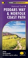 Wandelkaart Peddars Way & Norfolk Coast Path | Harvey Maps