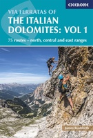 Dolomieten - Via Ferratas of the Italian Dolomites: Vol 1
