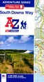 Wandelatlas Adventure Atlas South Downs Way | A-Z Map Company